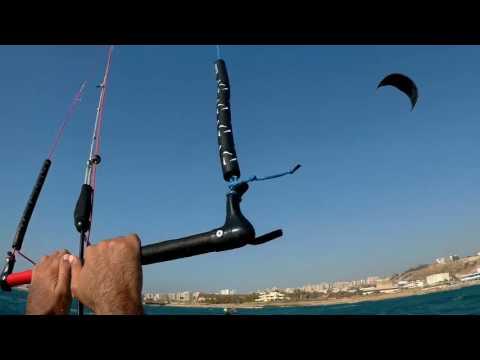 Kitesurfing Tripoli Lebanon.