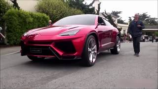 2018 Lamborghini Urus SUV On The Road