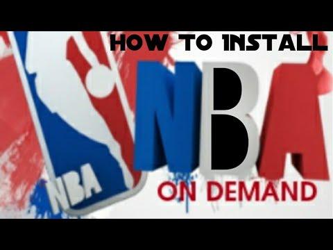 How to get NBA on demand on Kodi 17.4 2017