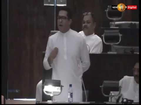 Heated Words Exchange Over Namal Rajapaksa & Sujeewa Senasinghe