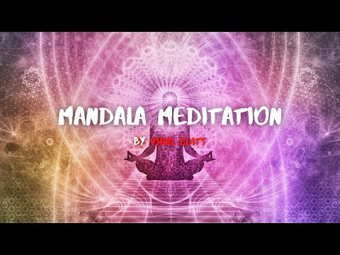 Mandala Meditation   Energy Healing Session For Sleeping Yoga And Relaxation