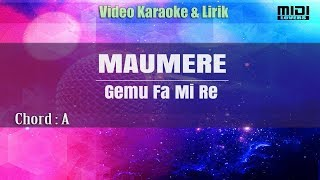 Karaoke Maumere - Gemu Fa Mi Re (Tanpa Vokal)