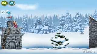 Маша и Медведь (Играем в снежки)