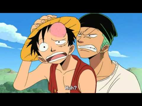 one piece funny moments luffys amnesia youtube