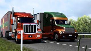 [ATS v1.42] Truck Traffic Pack by Jazzycat v2.8.1