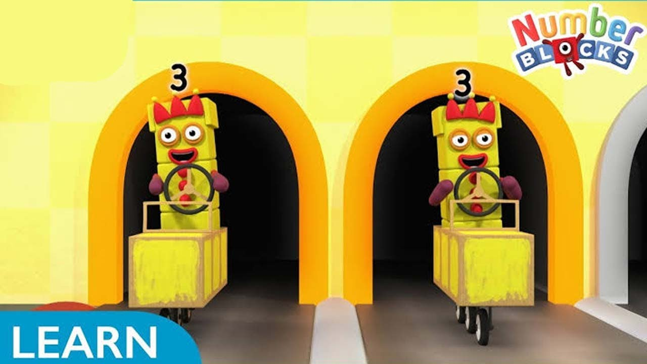 Download Numberblocks Season 6 Episode 5 Divide and Drive