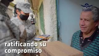 Su Fuerza Aérea Colombiana continua apoyando a la comunidad del municipio de Madrid - Cundinamarca