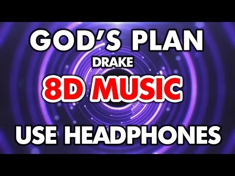 Drake - God's Plan (8D MUSIC)