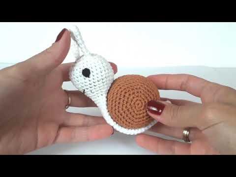 Улитка крючком. Развивающие игрушки крючком. Вязание для начинающих