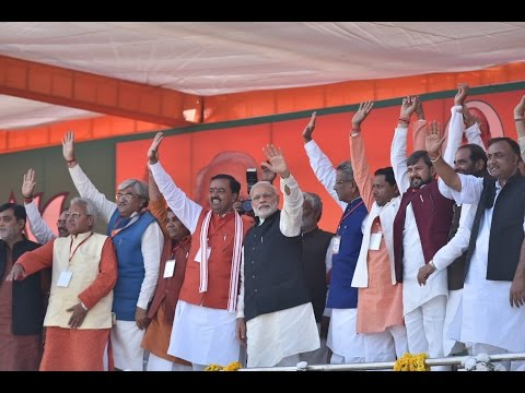 PM Modi at Parivartan Rally in Agra, Uttar Pradesh