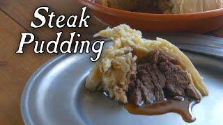 """A Savory """"1788"""" Steak Pudding"""