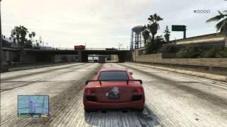 GTA 5 AUDI R8 RACE CAR FUN VS POLICE SPEED LIMIT