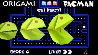 How to make Origami Pacman in real life by Jeremy Shafer