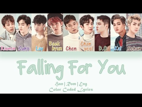 EXO - Falling For You [HAN|ROM|ENG Color Coded Lyrics]