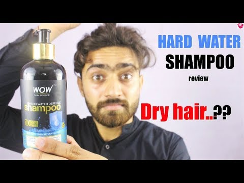Best Shampoo for Dry frizzy hair | Wow Hard Water defence shampoo review |  QualityMantra