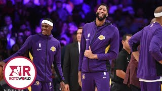 Lakers lead NBA's most favorable matchups during fantasy basketball playoffs | Rotoworld