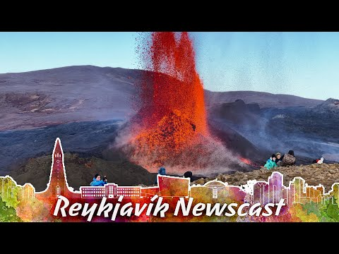 RVK Newscast #100: The Volcano Is Now A Fire Geyser!