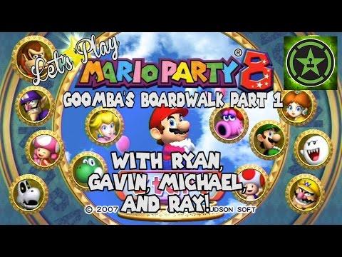 Let's Play - Mario Party 8 Goomba's Boardwalk Part 1