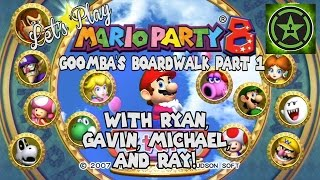 Let's Play - Mario Party 8 Goomba's Boardwalk Part 1