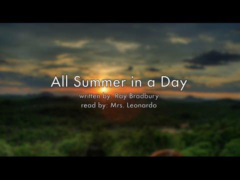 all summer in a day 2 All summer in a day has 4898 ratings and 409 reviews lyn said:  ერთ  კრებულში თავმოყრილი გაბნევს კიდევააც და ემოციურადაც ვერ განგაწყობს და  2.