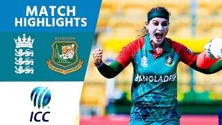 ICC #WT20 England Women vs Bangladesh Women Match Highlights thumbnail