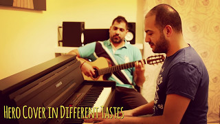 Hero Enrique Iglesias Cover in Different Tastes - Maan Hamadeh