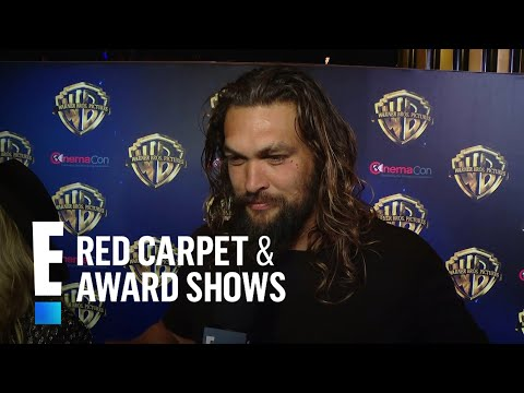 """What Jason Momoa Thinks of Getting His Own Movie """"Aquaman"""" 