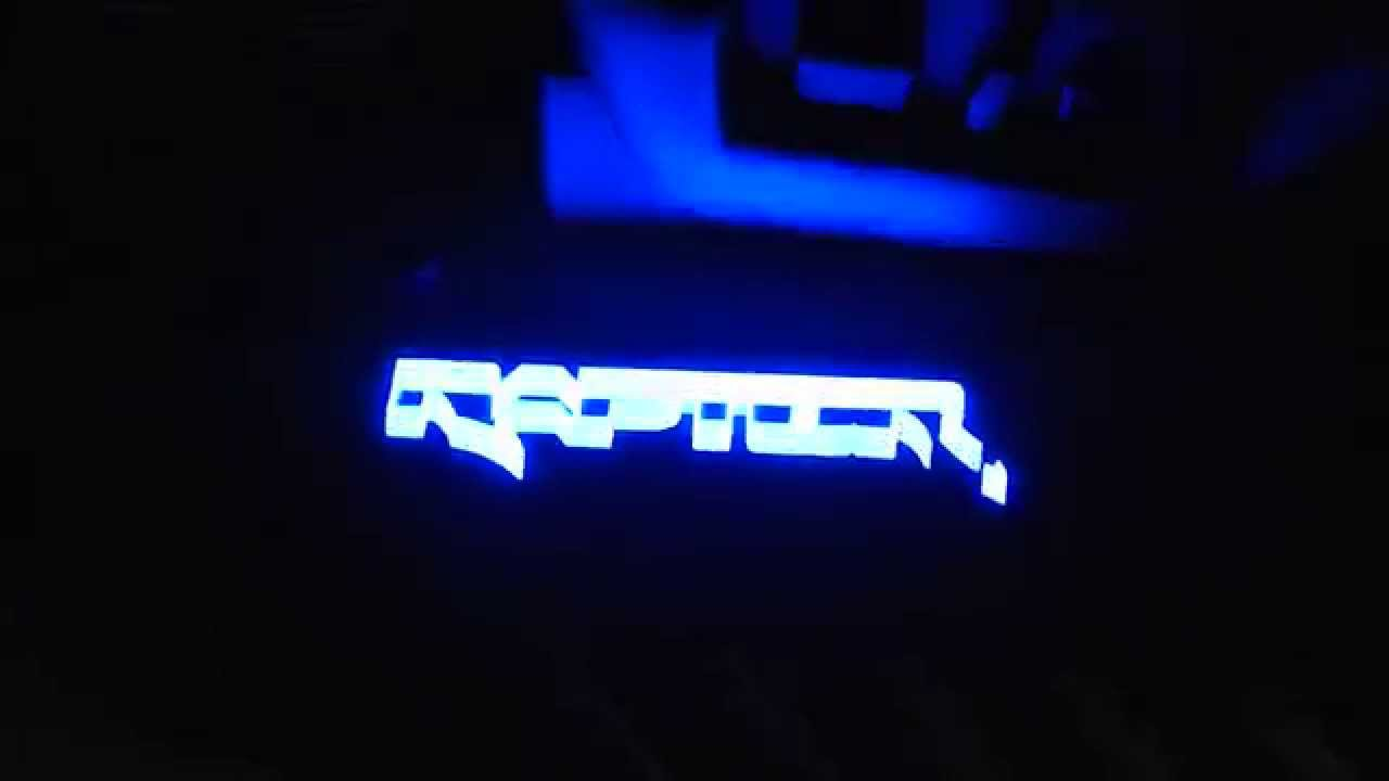 Raptor Svt Led Lights Install Youtube