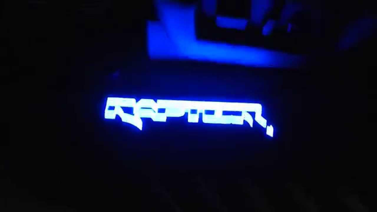 RAPTOR SVT LED LIGHTS Install  YouTube