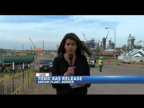 Toxic gas release at Borger Agrium Plant