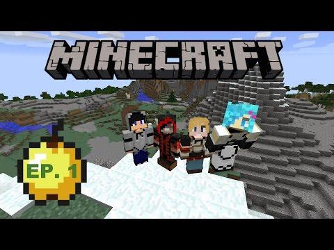 【Party Gamers】【Minecraft】 四個小生玩生存 #1 尋找新大陸