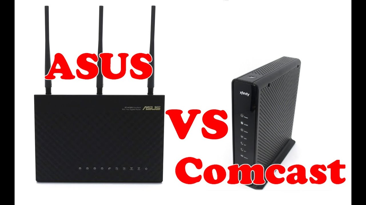 how to connect asus router to comcast modem