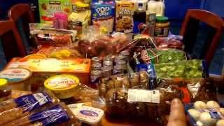 Jan 10 2015 Grocery Haul Thumbnail