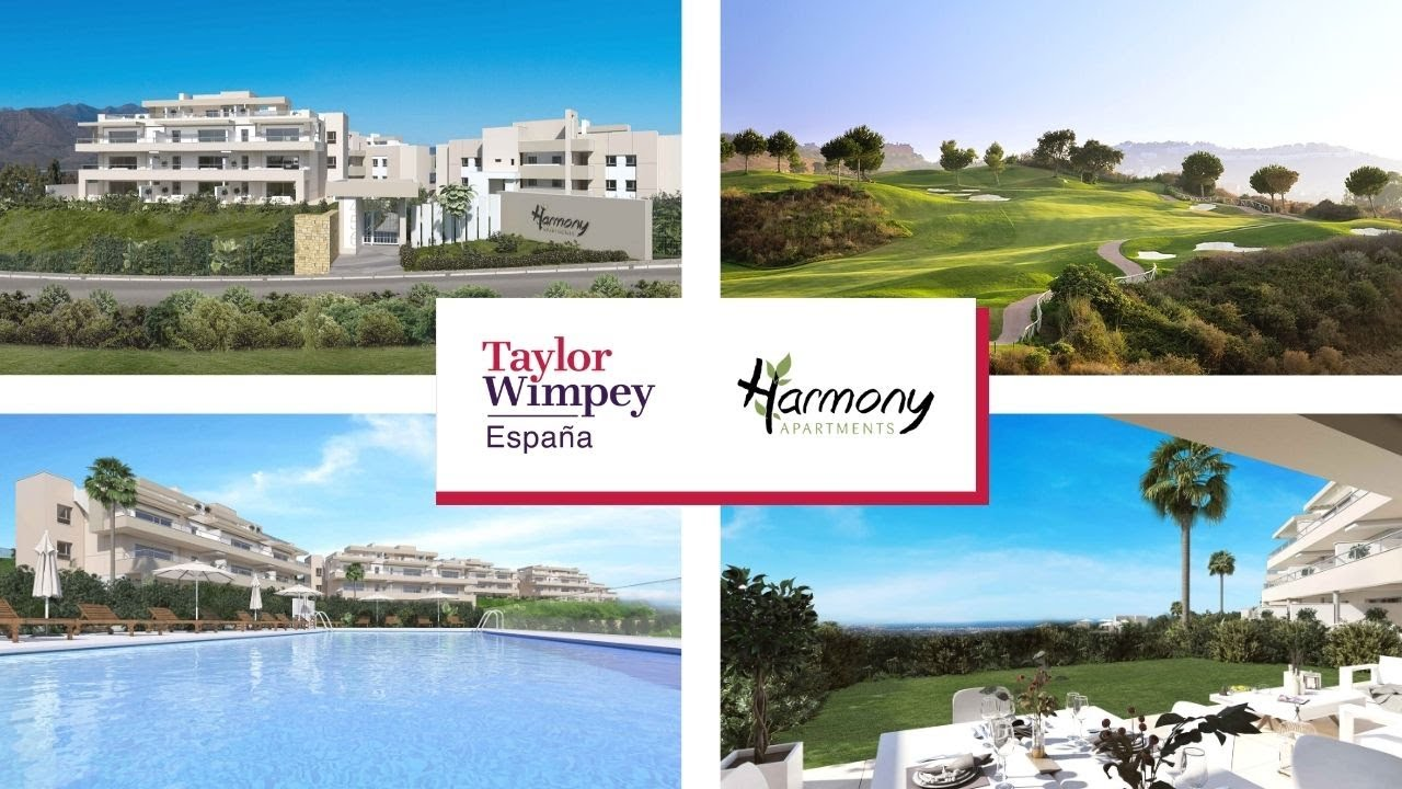 New Apartments For Sale In La Cala Golf Resort Mijas Harmony Youtube