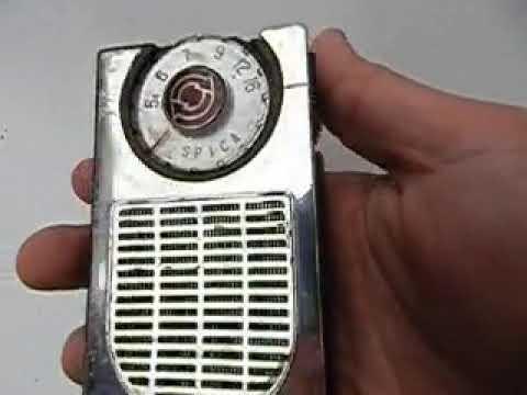 ANTIGUA RADIO SPICA DELUXE 6 TRANSISTOR ST608