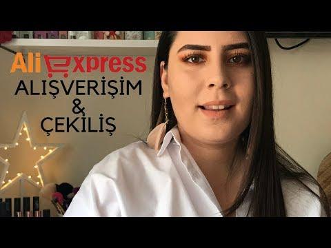 ÇEKİLİŞ Aliexpress alışverişim