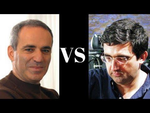 Amazing Chess Game : Garry Kasparov Vs Vladimir Kramnik - 1994 - Sicilian Defense - Brilliancy!