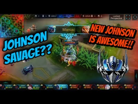 JOHNSON MONTAGE | REWORKED SKILLS | MOBILE LEGENDS