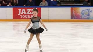 Аня Овечко, Юный фигурист, СШ «Снежные барсы». 1 место на призы «Академии льда» в ДС «Мегаспорт»