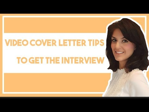 How college students can create a great video cover letter