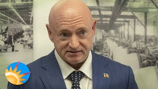 Sen. Mark Kelly, former astronaut, eager to read government UFO report