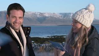 Hot Chocolate Challenge- Winter 'S' Words- Love on Iceland with Kaitlin Doubleday & Colin Donnell