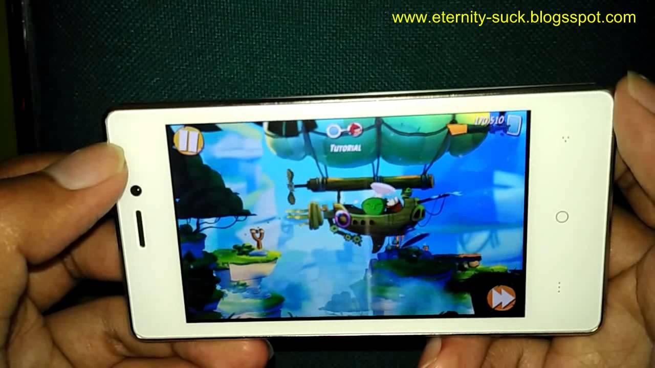 Bermain Game Menggunakan Smartphone Evercoss A74A Winner T