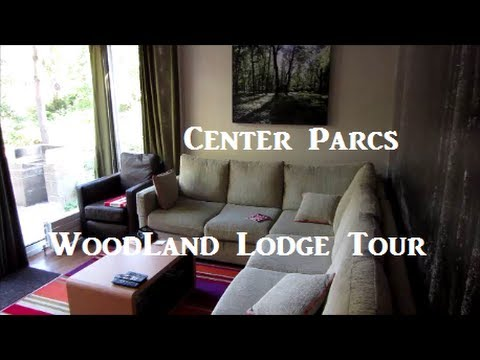 Center Parcs Woodland Lodge Tour - Oct 2013