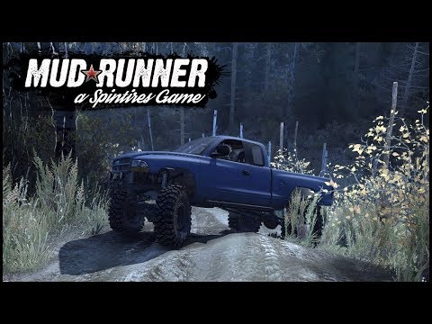 SPINTIRES MUDRUNNER - NASTY MUD TRAIL - MULTIPLAYER