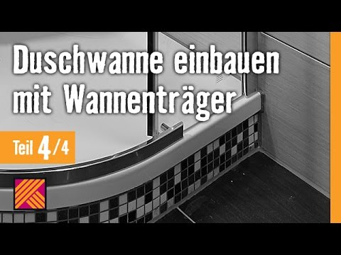 version 2013 duschwanne einbauen mit wannentr gern kapitel 4 duschkabine einbauen youtube. Black Bedroom Furniture Sets. Home Design Ideas