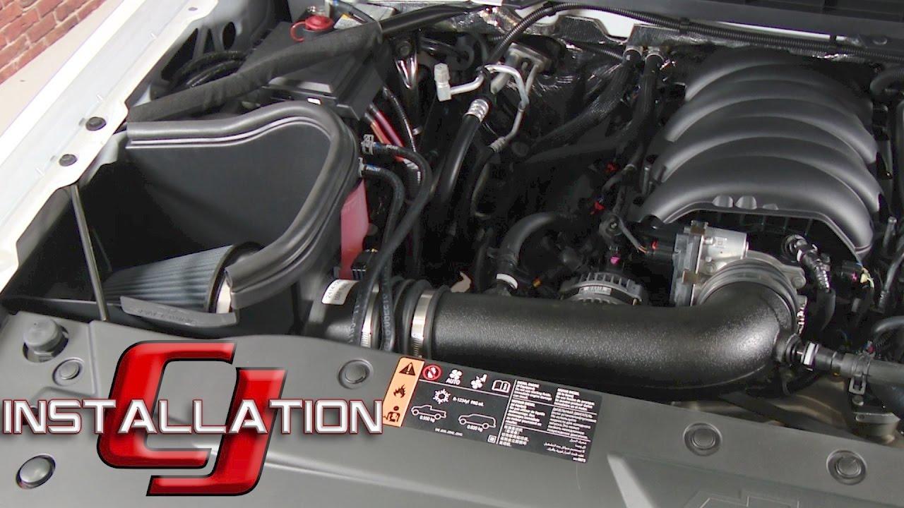 Cold Air Intake For Chevy Silverado 1500 >> Silverado Sierra 1500 Slp Performance Cold Air Intake Kit Blackwing