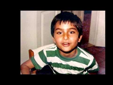 Bollywood actor Saif Ali Khan childhood, rare and unseen ...