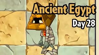 Plants vs Zombies 2 - Ancient Egypt Day 28: Pyramid-Head Zombie