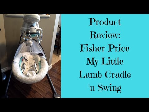 Product Review - Fisher Price My Little Lamb Cradle 'n Swing Review June 2017 - This Mommy Rants
